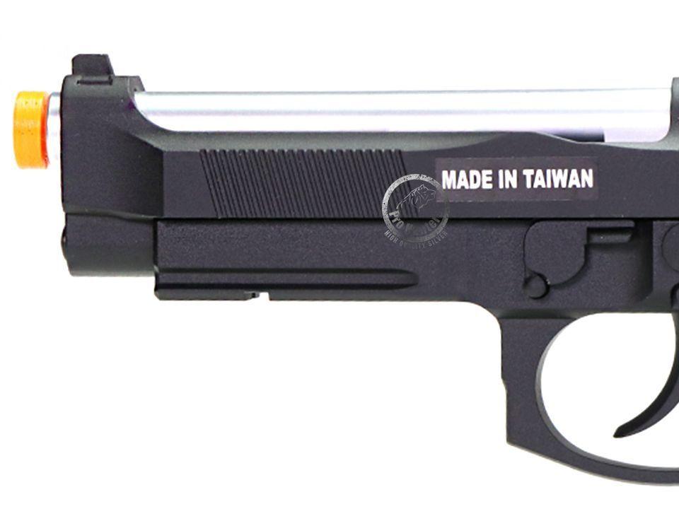 Pistola Airsoft - Kjw - KJ Works - IA- Beretta M92 - GBB - Co2
