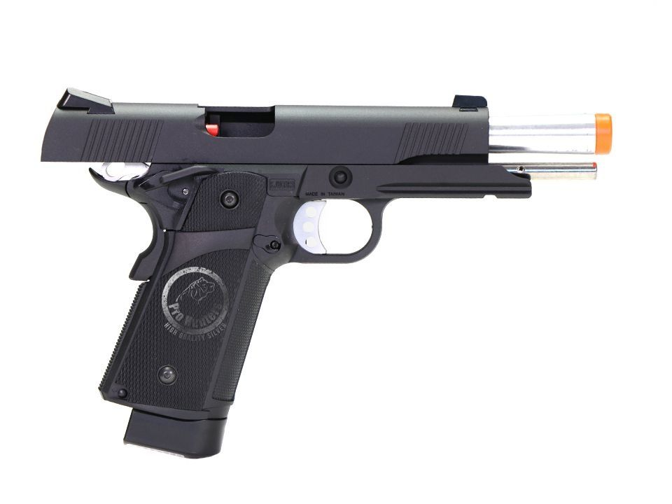 Pistola Airsoft - Kjw - KJ Works - KP05 - 1911 Custom - GBB - Co2
