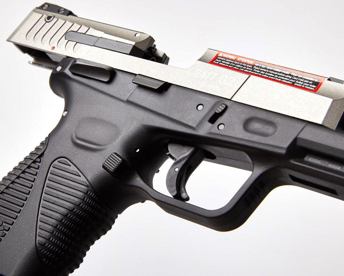 Pistola Airsoft Taurus PT 24/7 G2 Dual tone Co2 GBB - Cybergun - FRETE GRÁTIS!