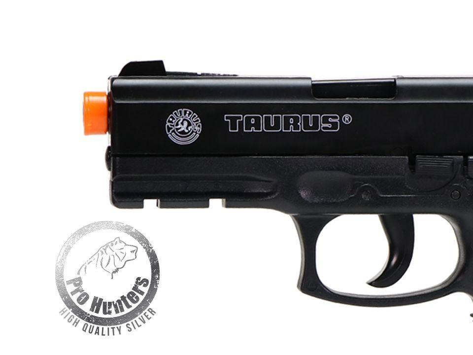 Pistola Airsoft Taurus PT24/7 Spring Cybergun + Mag extra Brinde + BBs 0.20g 2000und