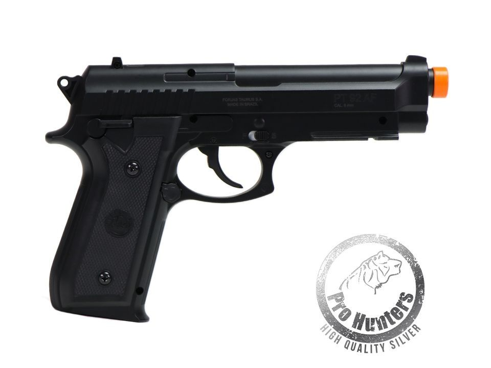 "Pistola Airsoft Taurus PT92 ""NBB / Slide Fixo"" Co2 -  ABS - Cybergun 210308"