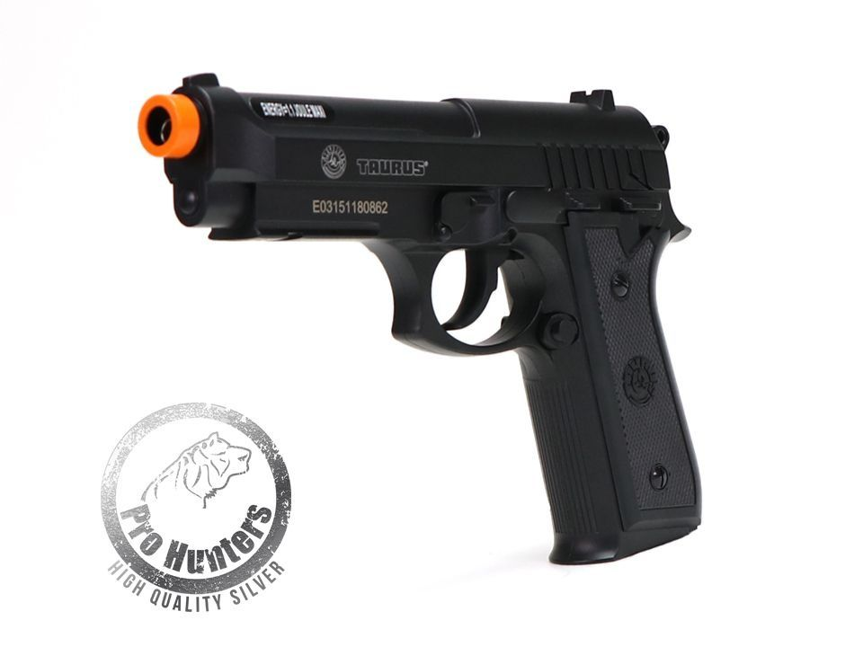 "Pistola Airsoft Taurus PT92 ""NBB / Slide Fixo"" Co2 Full Metal - Cybergun - FRETE GRÁTIS"