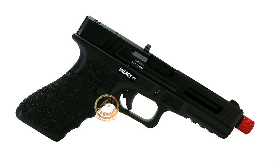 Pistola de Airsoft GBB Gladius 17 Secutor - Black II