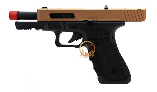 Pistola de Airsoft GBB Gladius 17 Secutor - Bronze Tan