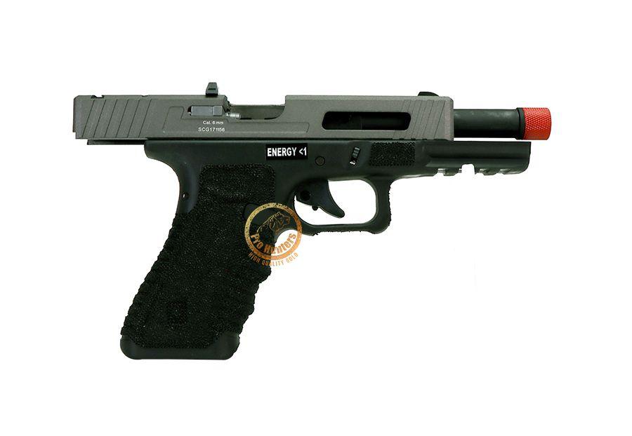 Pistola de Airsoft GBB Gladius 17 Secutor - Stone