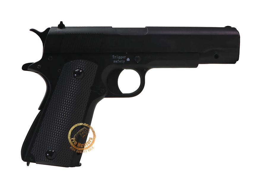 Pistola de Airsoft Spring Saigo 1911 Muelle Full Metal - Black