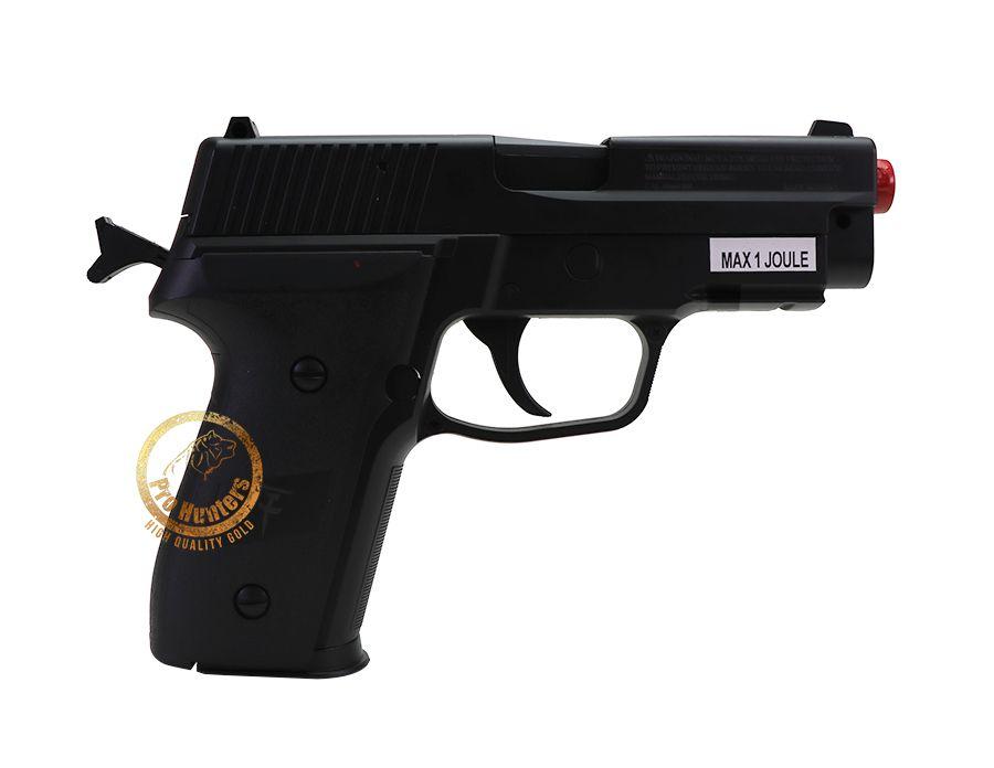Pistola de Airsoft Spring Saigo 226 Muelle - Black