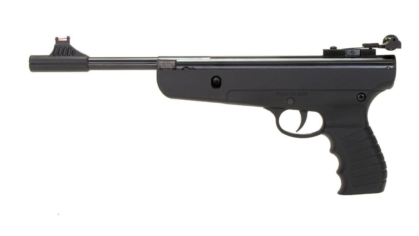 Pistola de Pressão SWBR Target 4.5mm