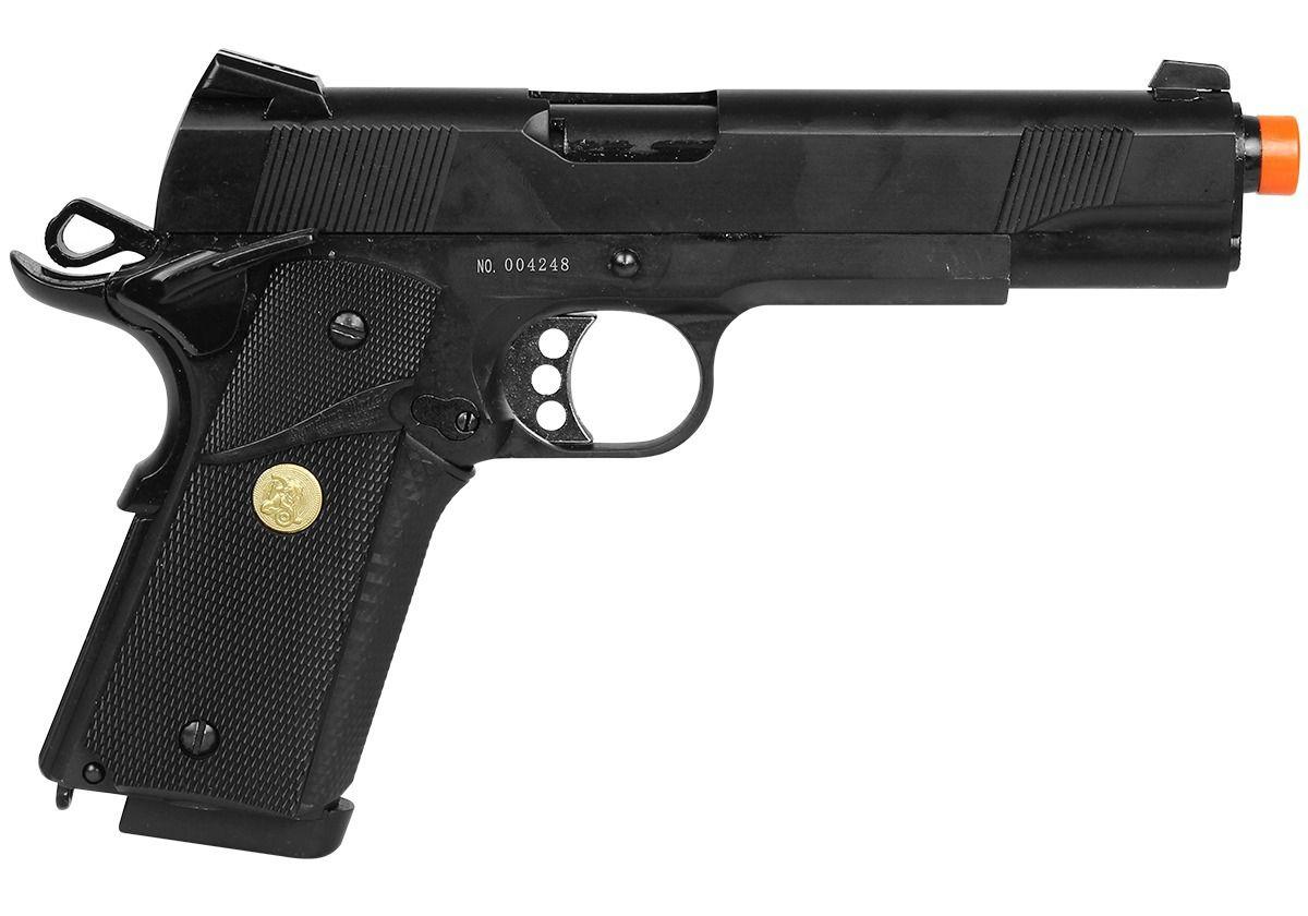 Pistola GBB Double Bell - Colt 1911 728 - Full Metal