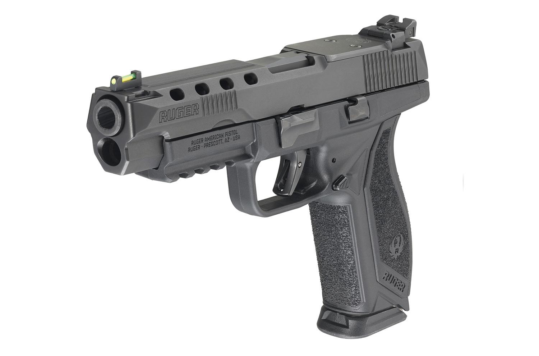 PRÉ VENDA - Pistola Ruger American Pistol Competition - 9mm - Black