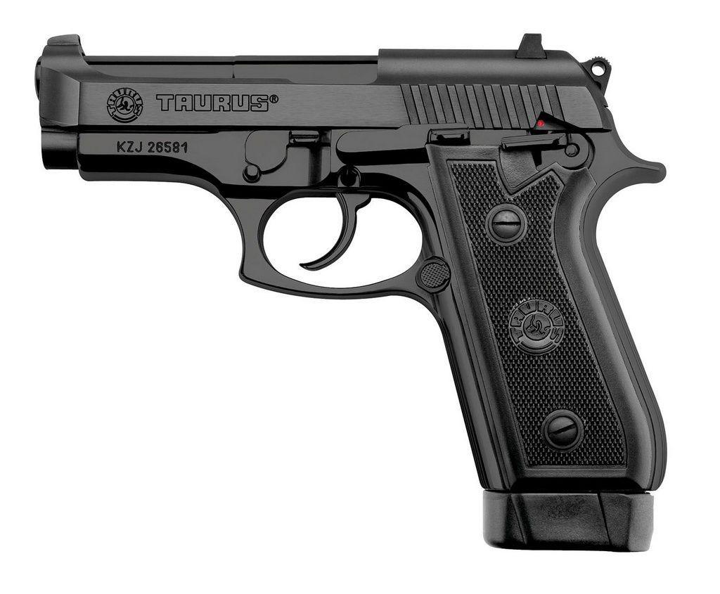Pistola Taurus PT 58 HC Plus Calibre .380 - Oxidada