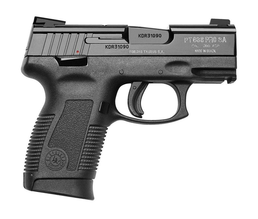 Pistola Taurus PT 638 Pro Calibre .380 ACP