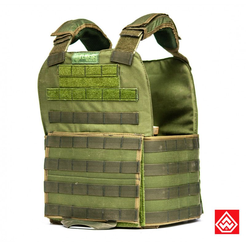 Plate Carrier Fenrir Patriot Verde U -  Warfare
