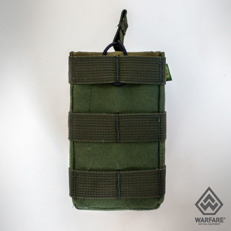 Porta Carregador 2X556 M.o.l.l.e  Warfare Fenrir- Green