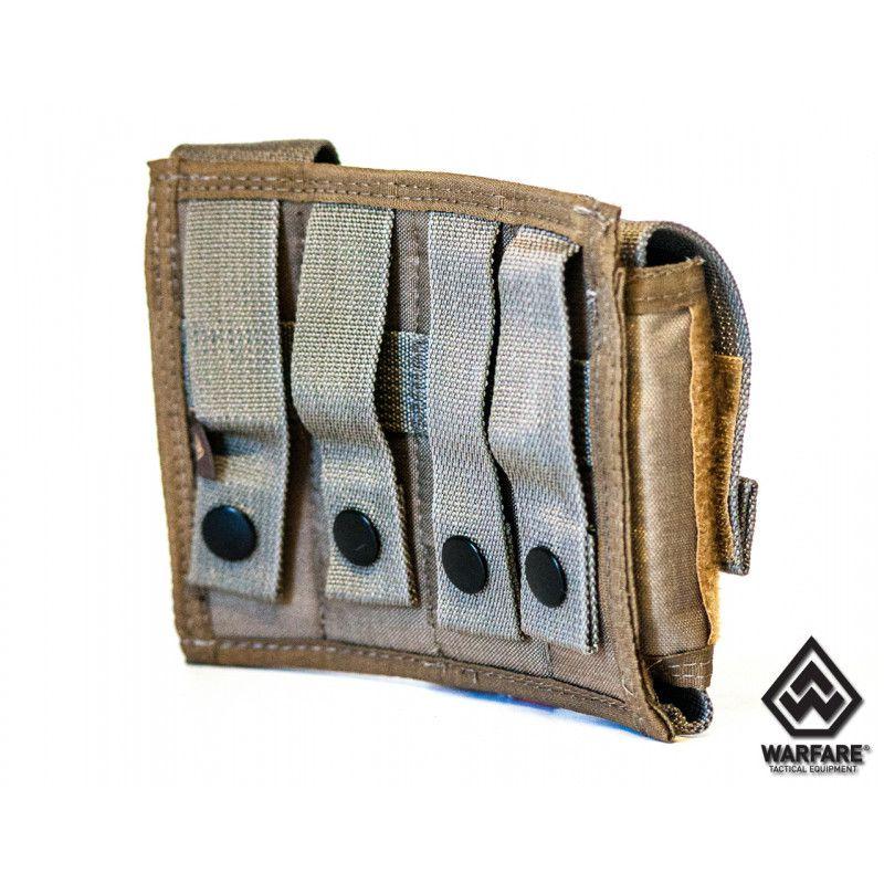 Porta Carregador 4x Pistol - Coyote