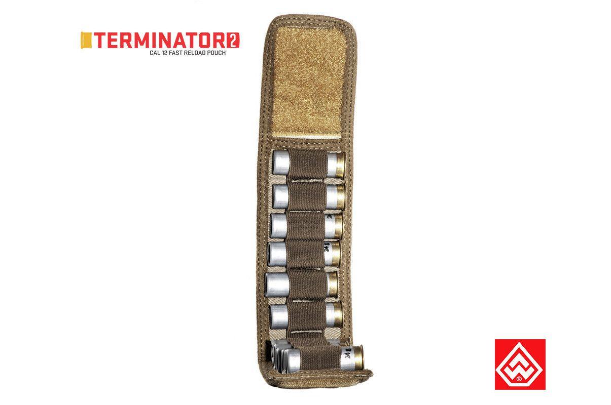 Porta Carregador Warfare Cal. 12 Terminator II - Coyote