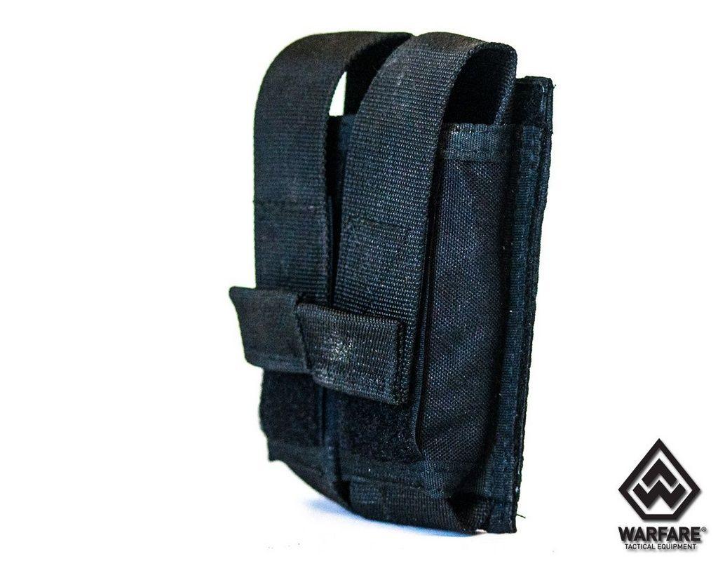 Porta Carregador De Pistola 2X - Black