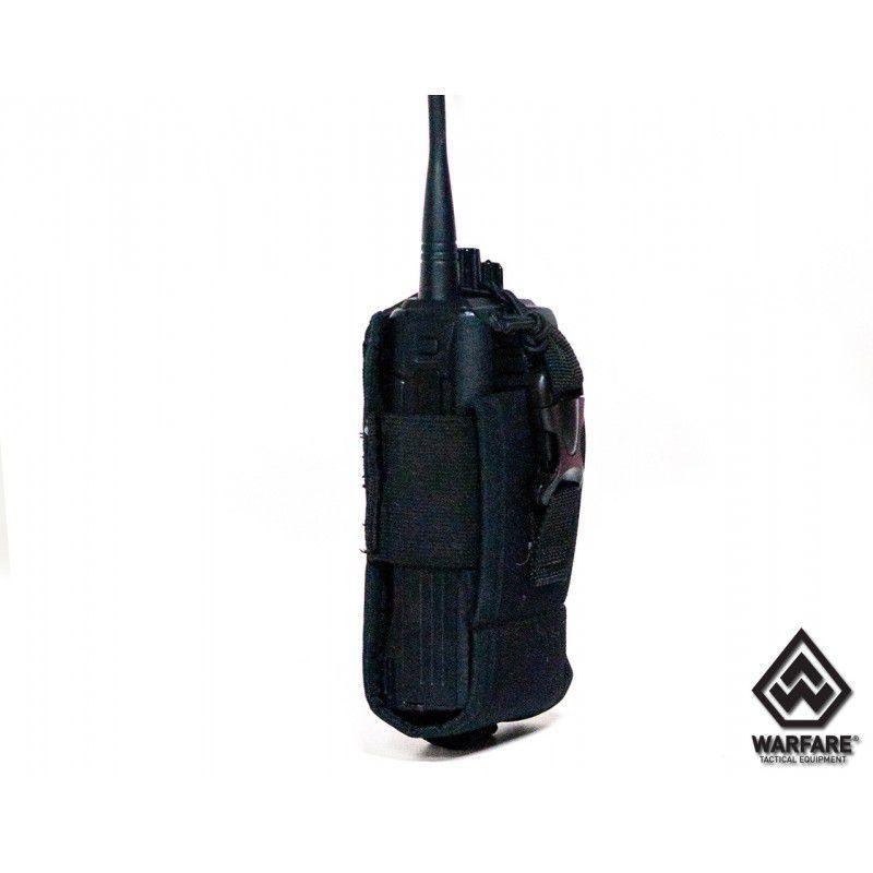 Porta Radio Police M.o.l.l.e - Black