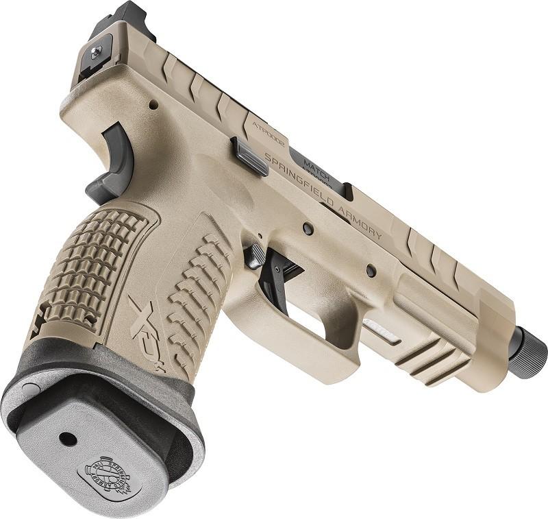 "PRÉ-VENDA - Pistola Springfield XD-M Elite 4,5"" OSP Threaded Desert FDE - Calibre 9mm"