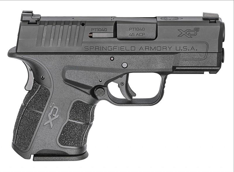 "PRÉ-VENDA - Pistola Springfield XD-S Mod.2 3,3"" Single Stack - Calibre .45ACP"