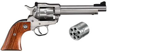 PRÉ VENDA Revolver New Model Single-Six Convertible - 22LR/22WMR - Inox