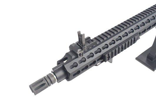 Rifle Airsoft M4 BOLT B4 KEYMOD - Black Full Metal - Blowback & Recoil System