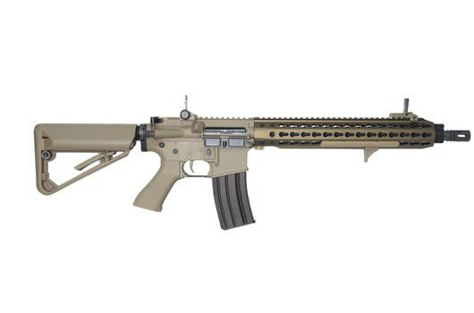 Rifle Airsoft M4 BOLT B4 KEYMOD - TAN Full Metal - Blowback & Recoil System