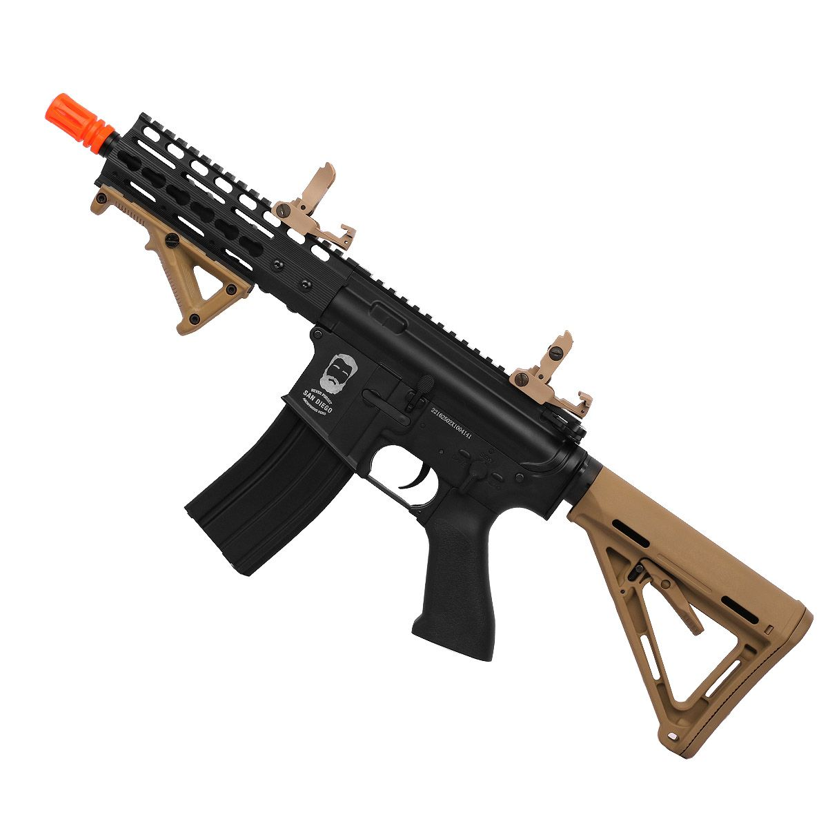Rifle Airsoft Duel Code San Diego Full Metal - Tan