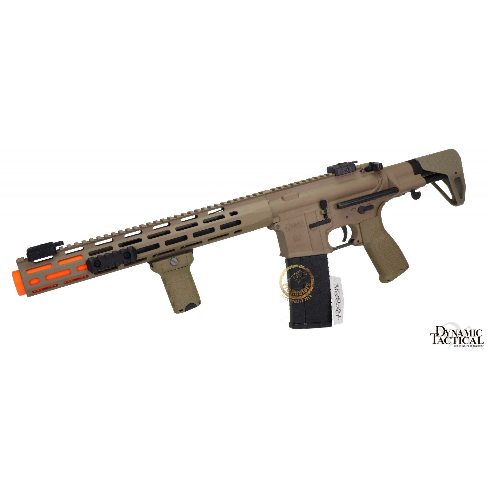 Rifle Airsoft Dytac EVO Standard M4 SBR Type A - Black