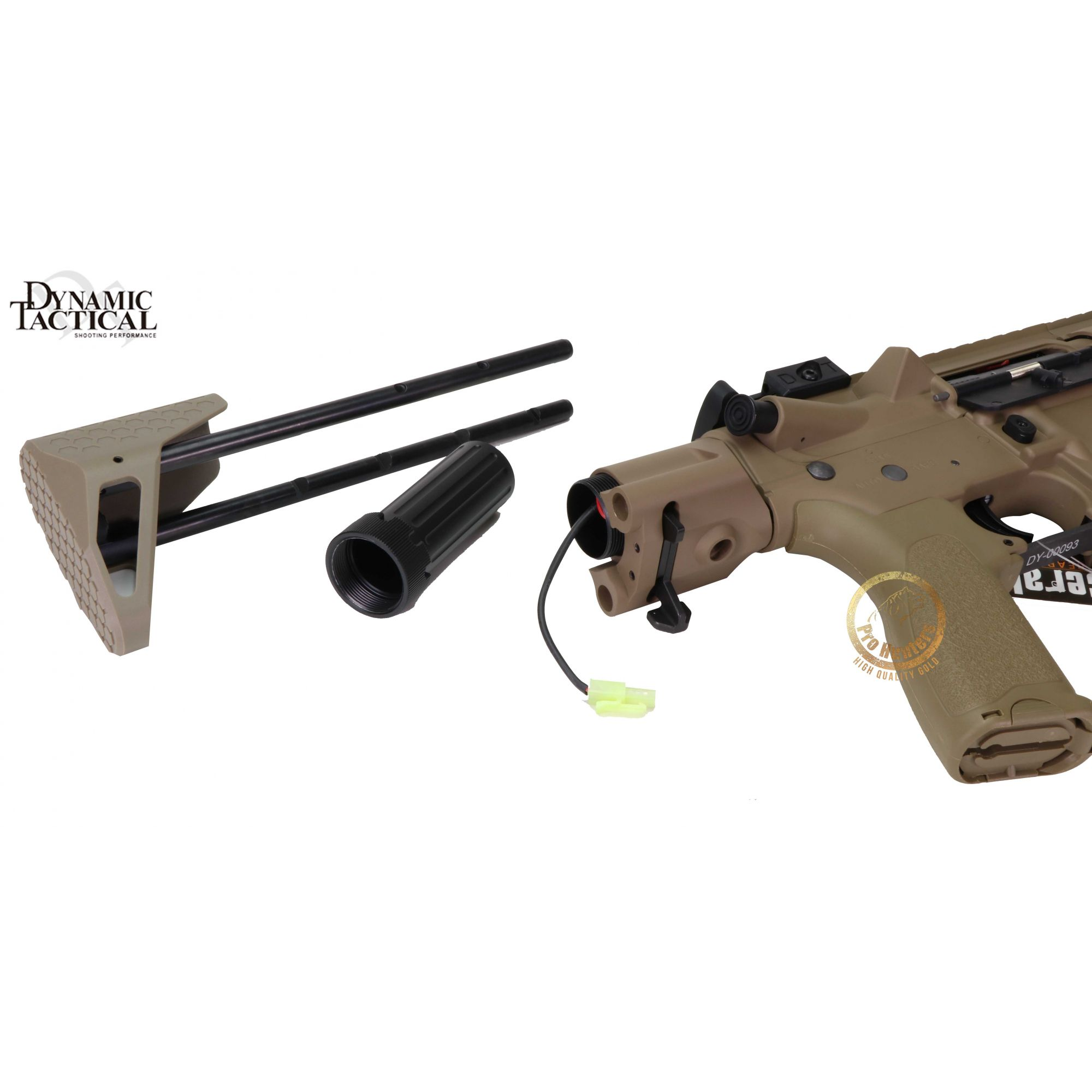 Rifle Airsoft Dytac EVO Standard M4 SBR Type A - Magpul Dark Earth