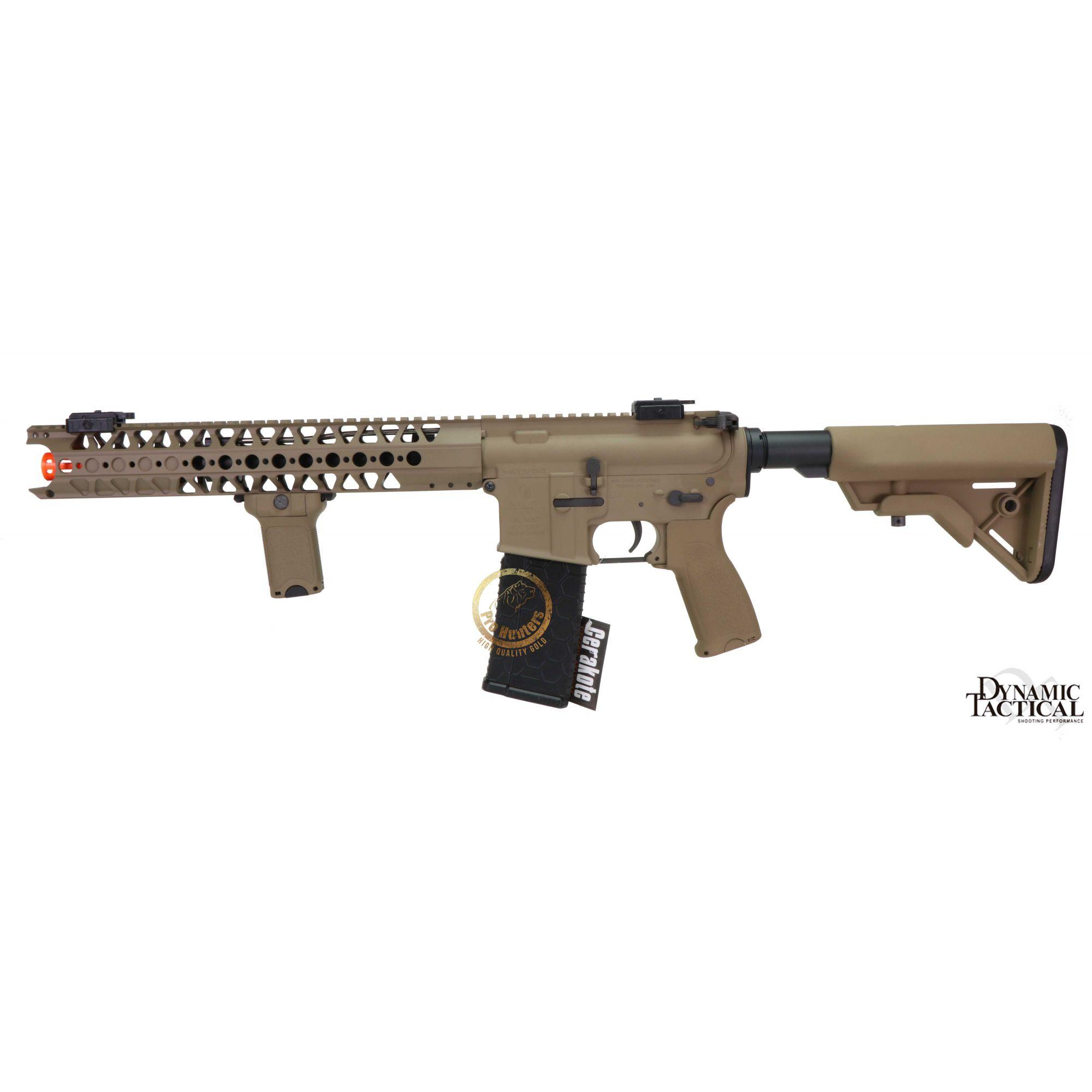 Rifle Airsoft Dytac LA M4 SBR - Dark Earth