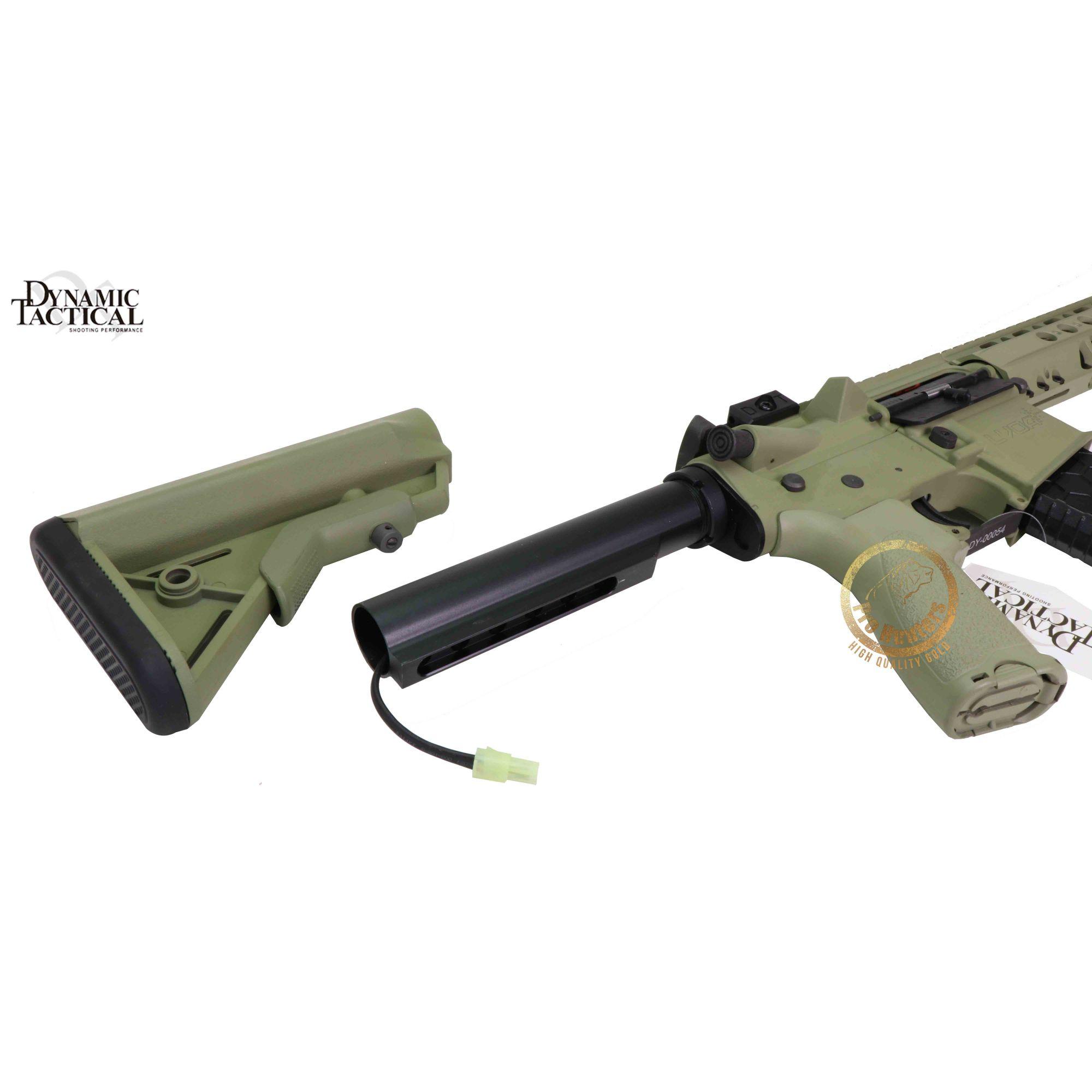 Rifle Airsoft Dytac LA M4 SBR - Wasport Foliage
