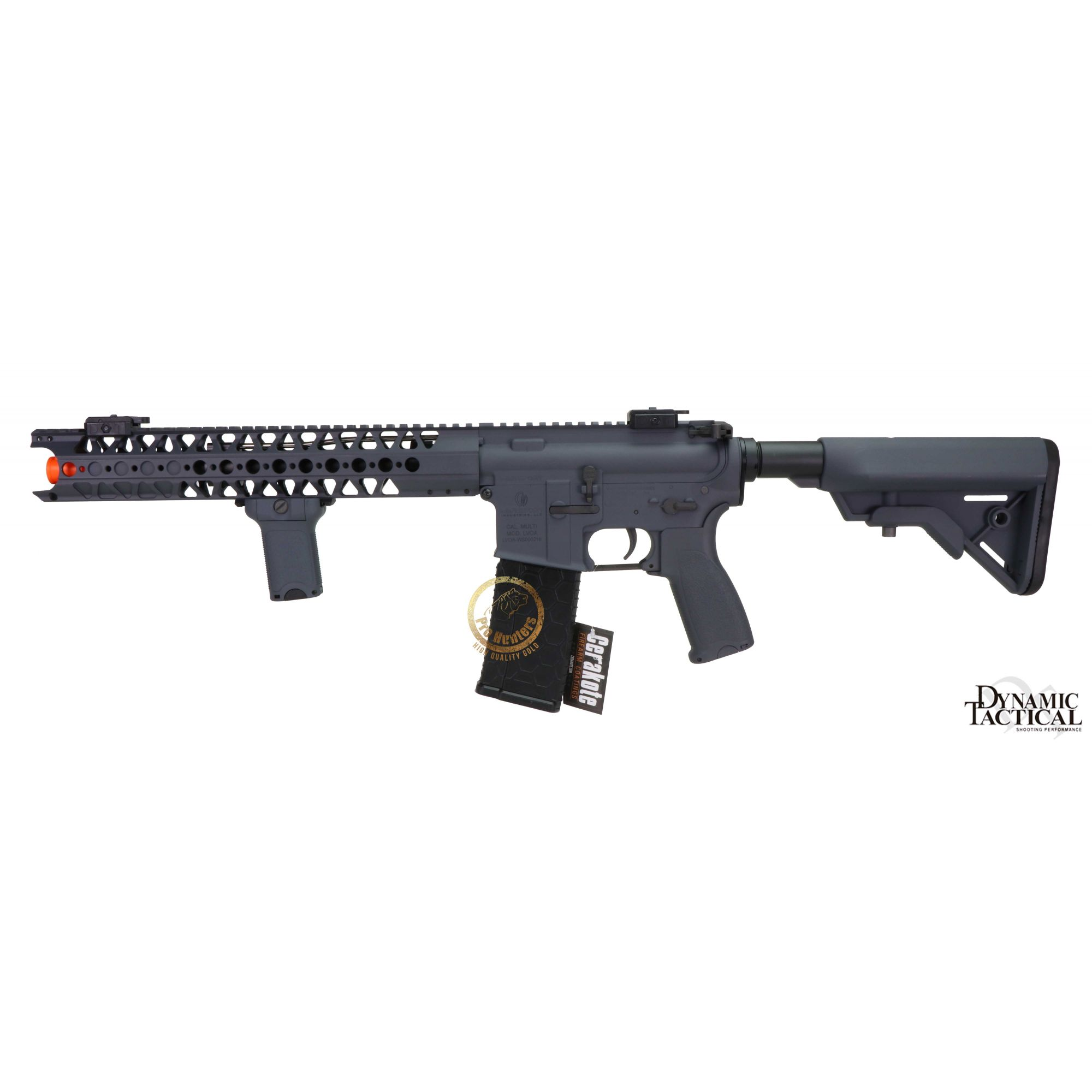 Rifle Airsoft Dytac LA M4 SBR - Wolf Grey
