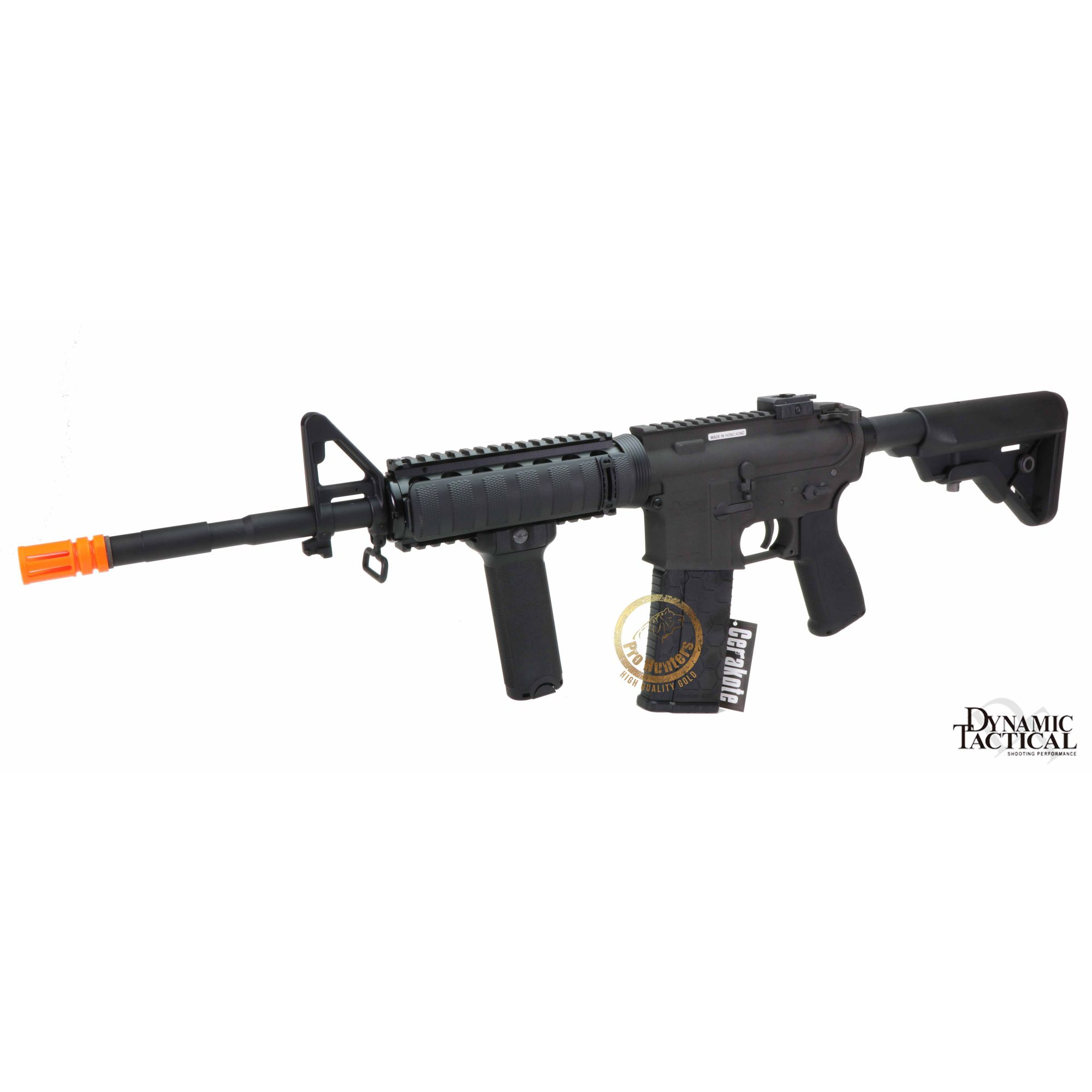 Rifle Airsoft Dytac M4A1 14.5 Pol Carbine Ris - Black