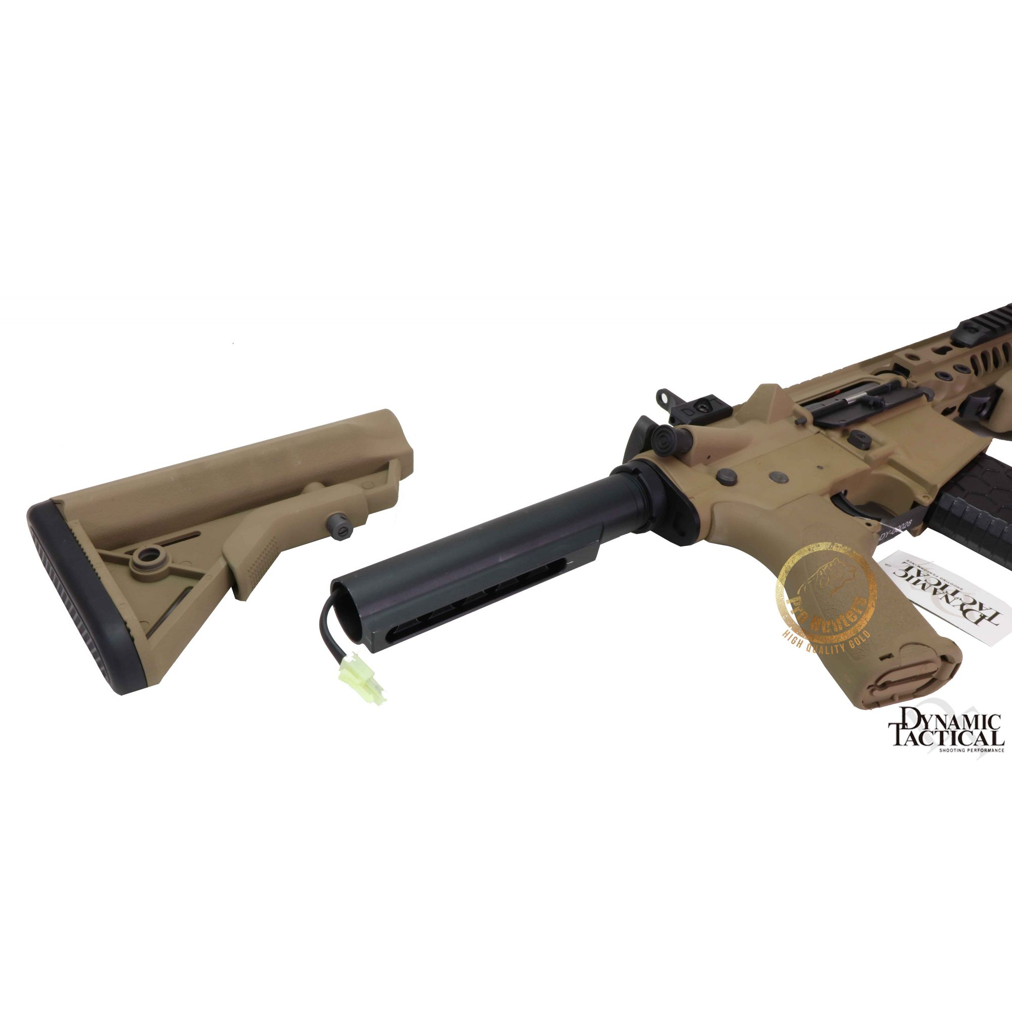 Rifle Airsoft Dytac MK4 SMR 10.5 Pol - Magpul Dark Earth