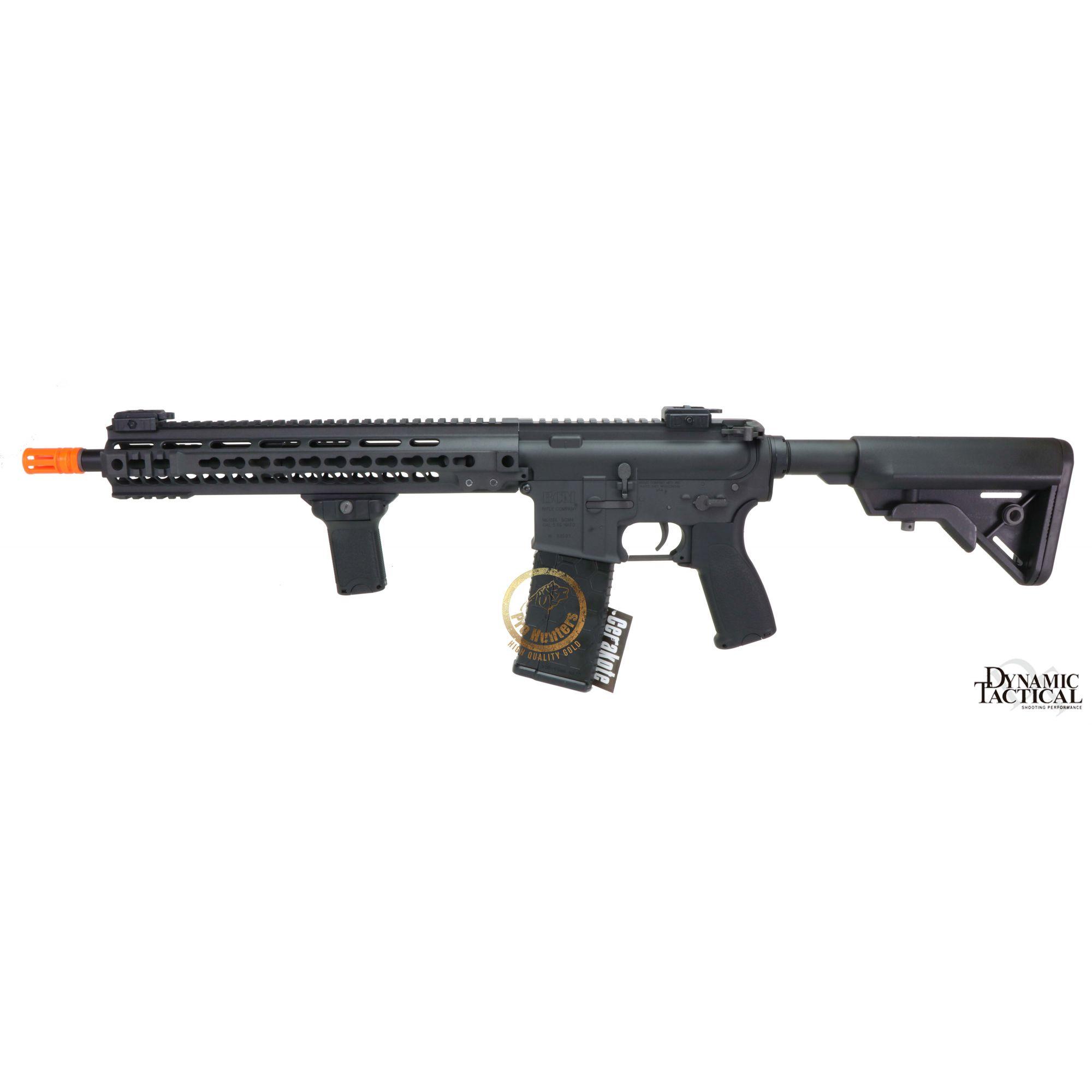 Rifle Airsoft Dytac MK4 SMR 14.5 Polegadas - Black