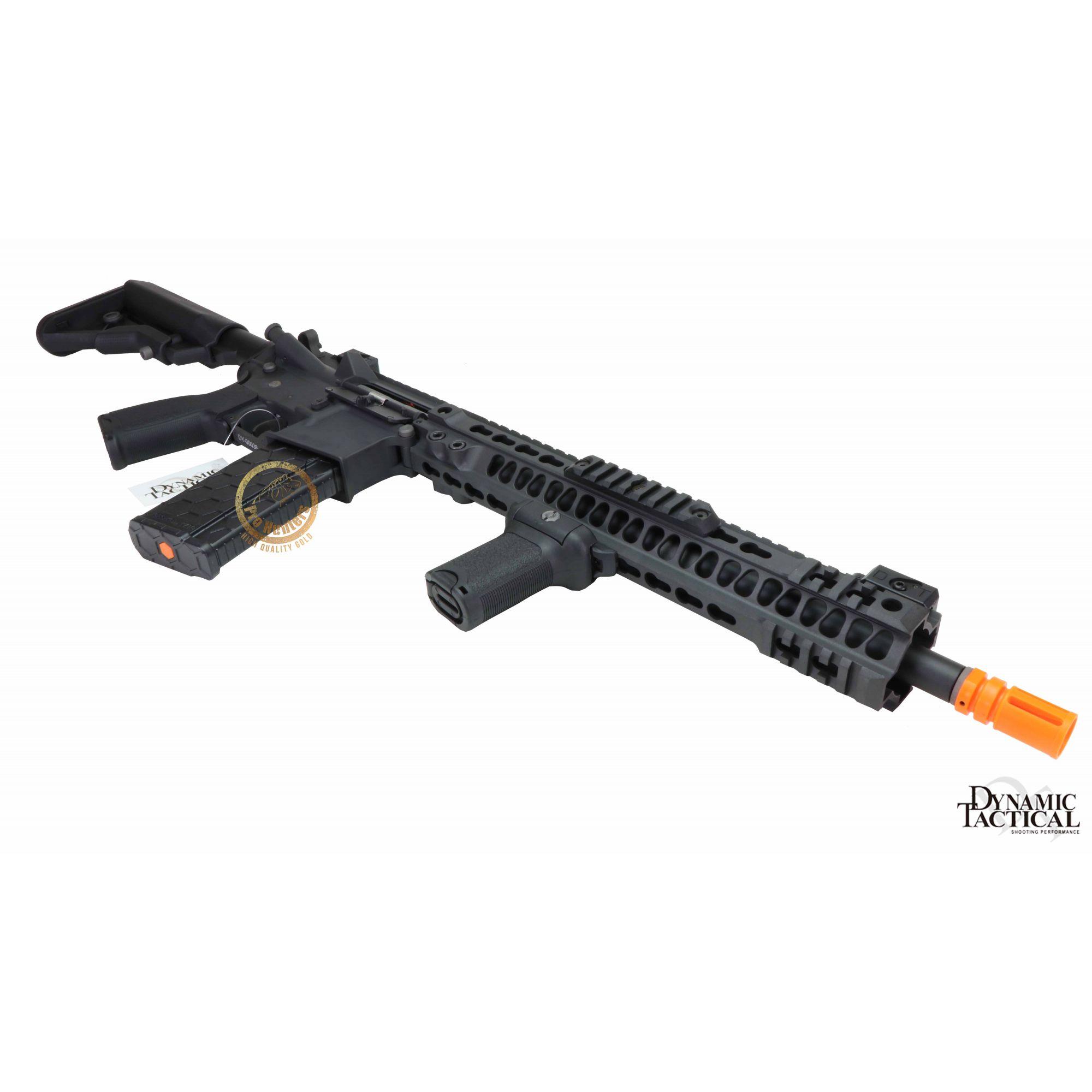Rifle Airsoft Dytac MK4 SMR 14.5 Polegadas - Black - FRETE GRÁTIS