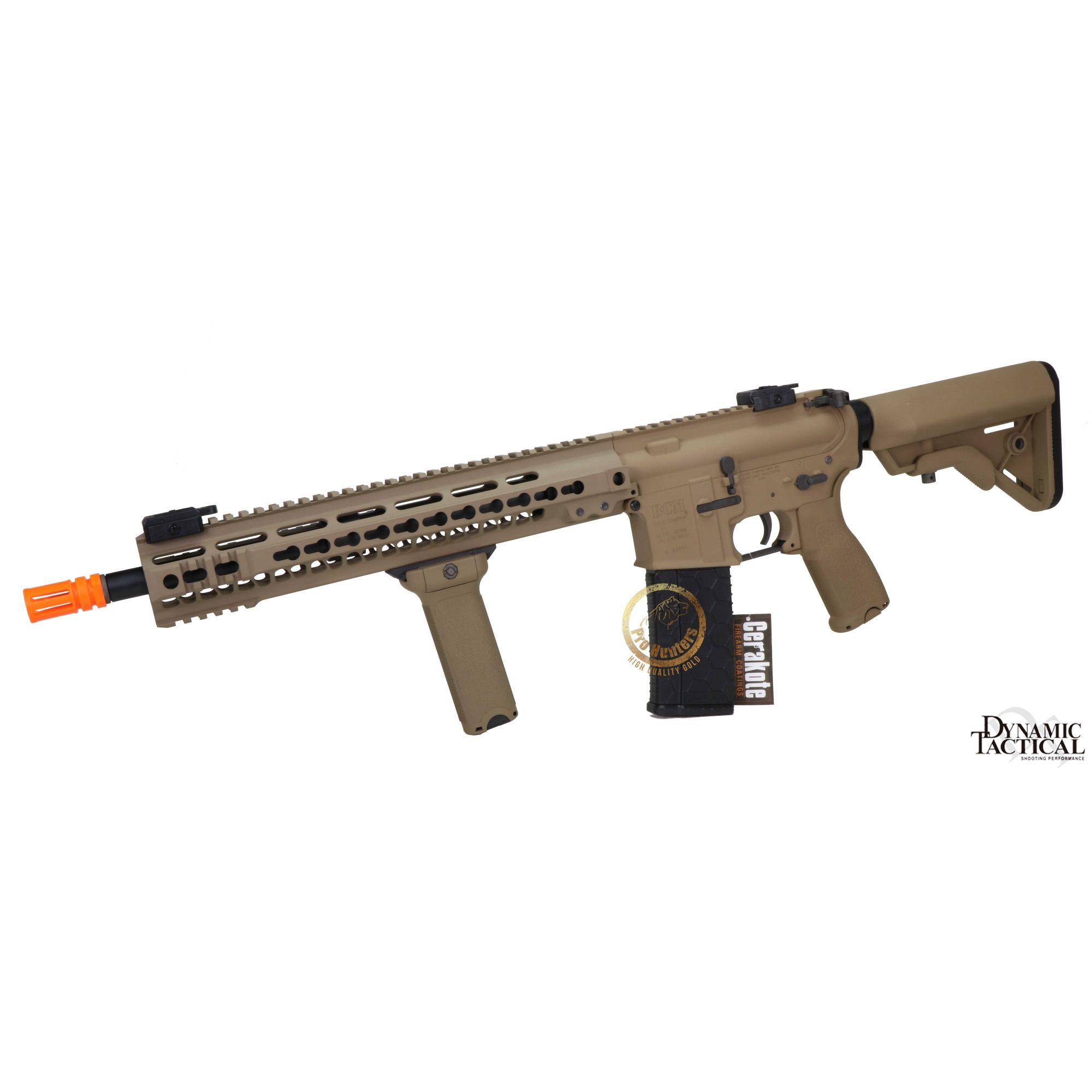 Rifle Airsoft Dytac MK4 SMR 14.5 Polegadas - Magpul Dark Earth