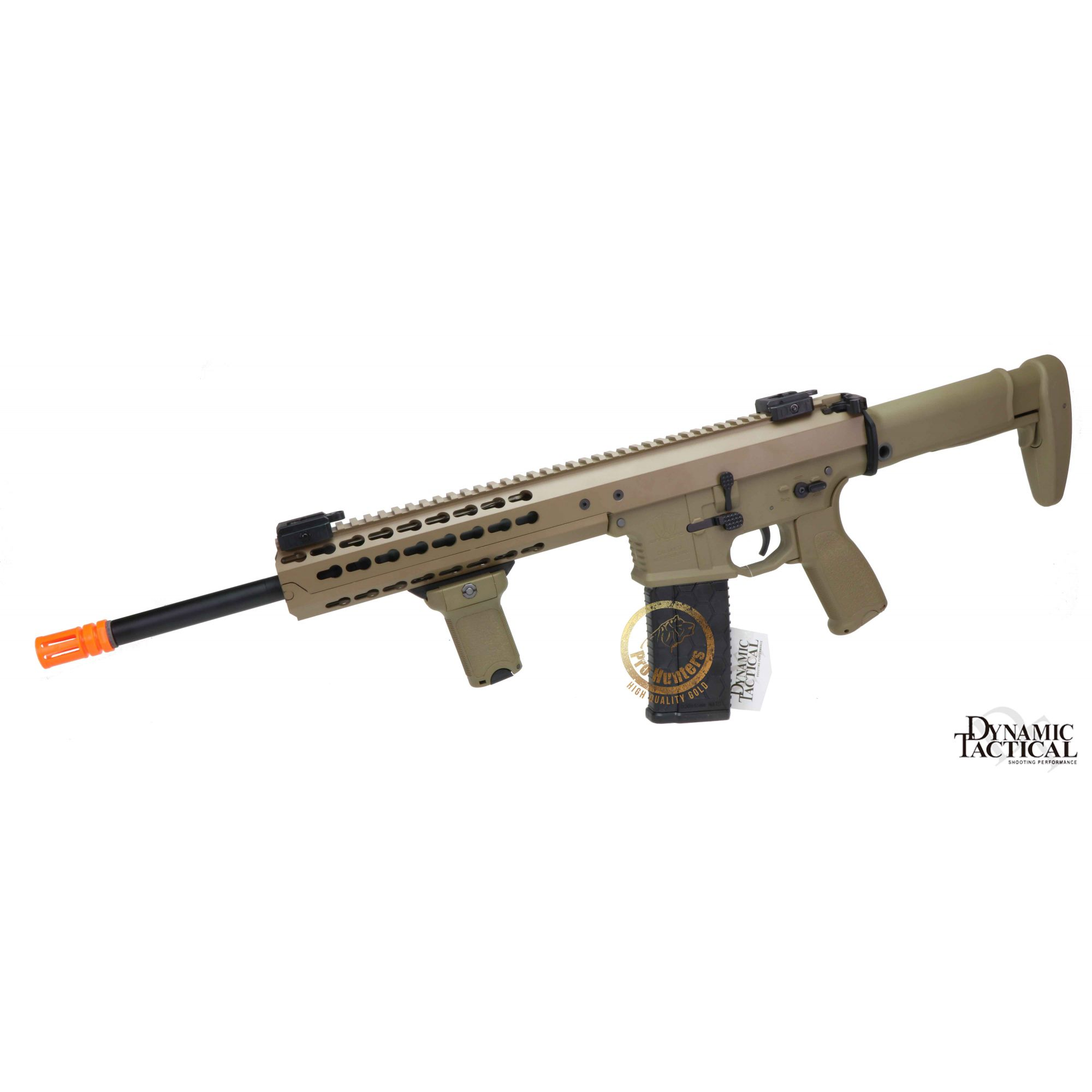 Rifle Airsoft Dytac Warlord Carbine Type A - Magpul Dark Earth