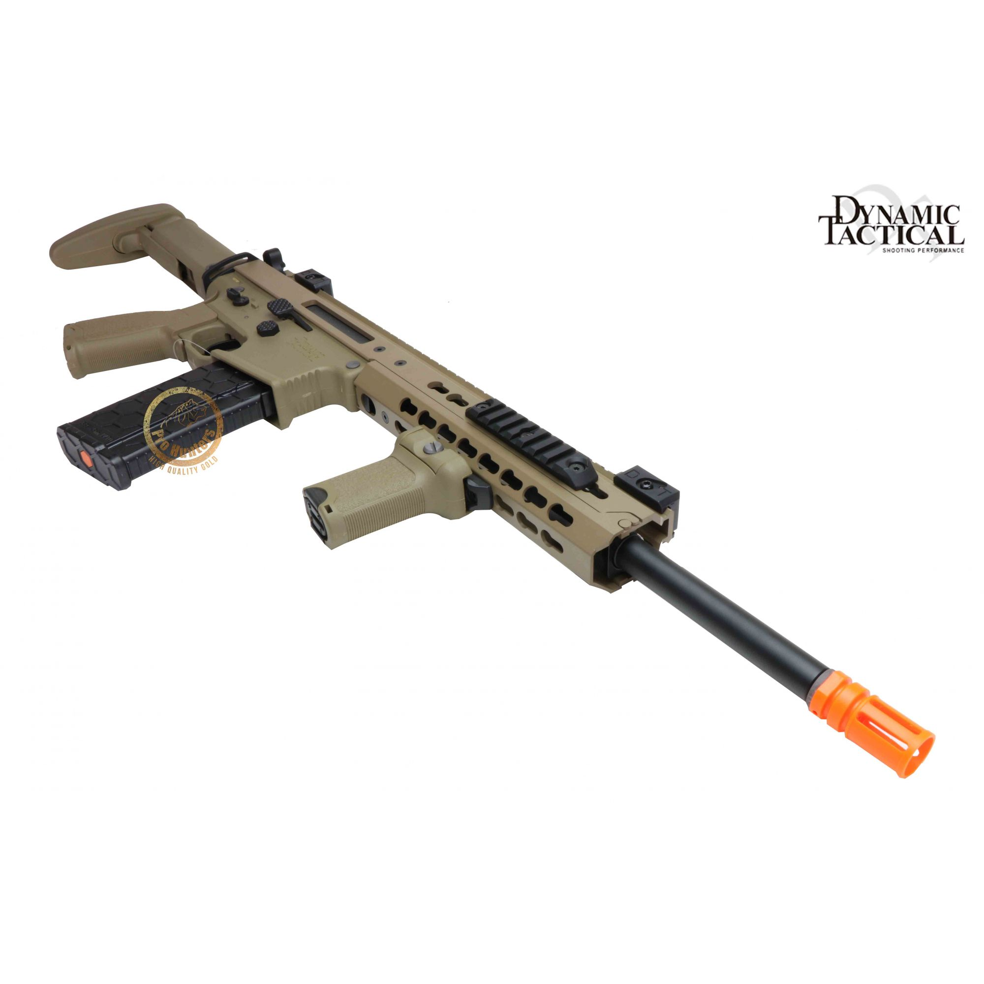 Rifle Airsoft Dytac Warlord Carbine Type A - Magpul Dark Earth - FRETE GRÁTIS