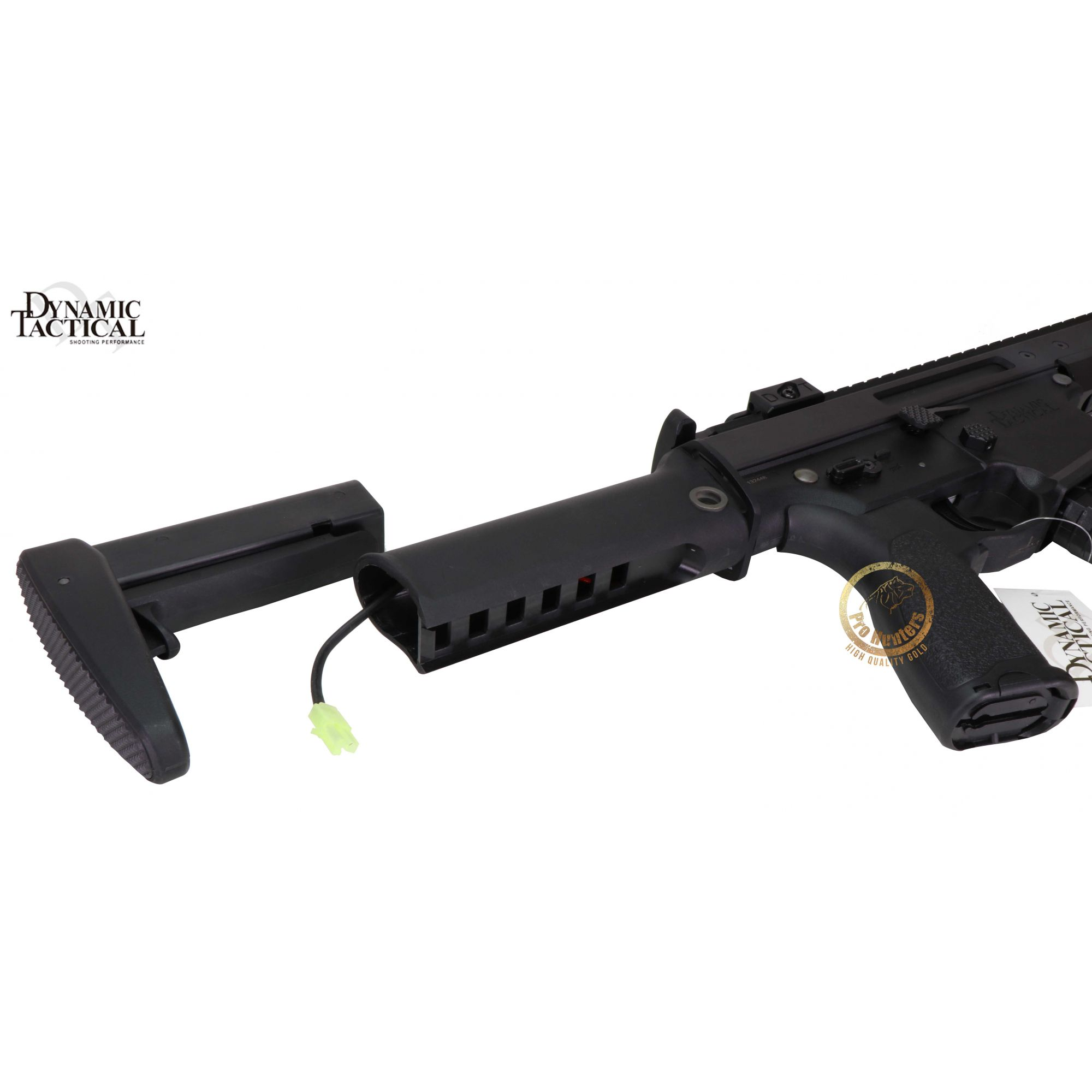 Rifle Airsoft Dytac Warlord Carbine Type B - Black - FRETE GRÁTIS