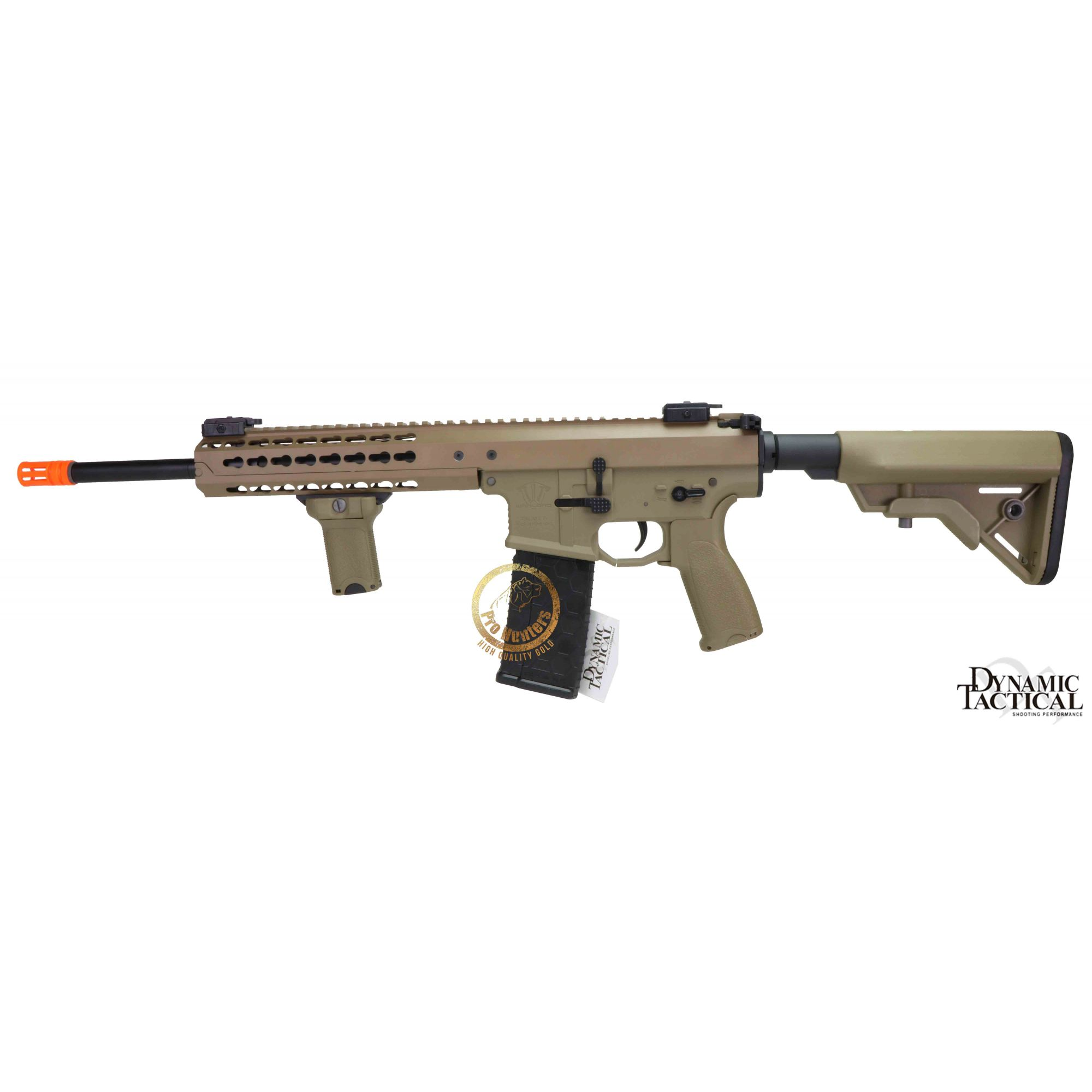 Rifle Airsoft Dytac Warlord Carbine Type B - Magpul Dark Earth