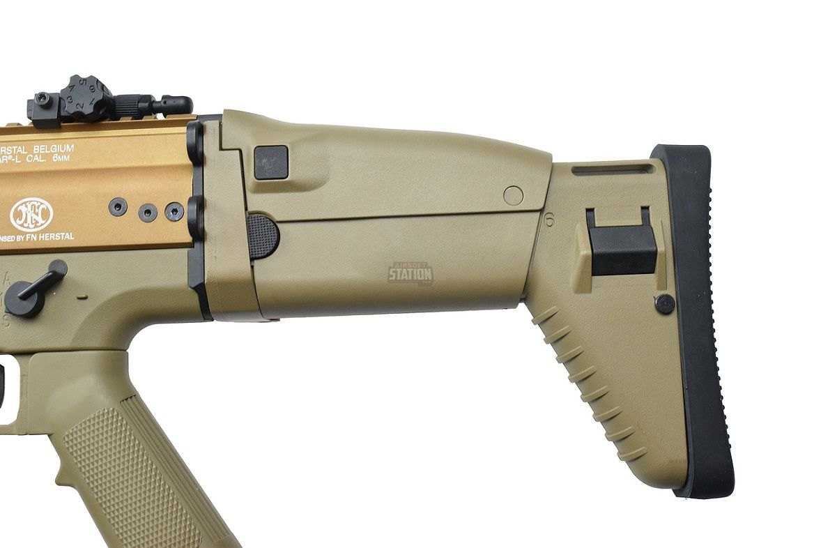 Rifle Airsoft FN SCAR-L Cybergun FN Herstal Tan