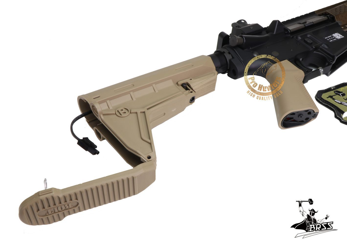 Rifle Airsoft M4 BOLT B4 KEYMOD COBRA - TAN Full Metal - Blowback & Recoil System