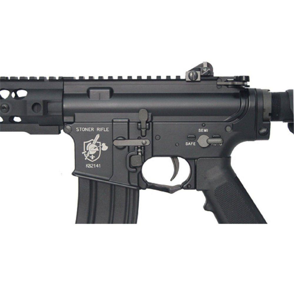 Rifle Airsoft M4 Bolt B4 SR16 URX2  - Black Ris Full Metal - Blowback & Recoil System - FRETE GRÁTIS
