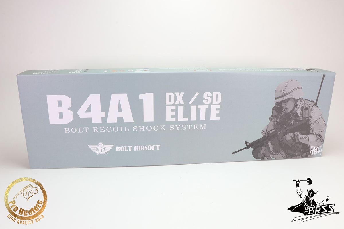 Rifle Airsoft M4 BOLT B4A1 ELITE sd - TAN Full Metal - Blowback & Recoil System