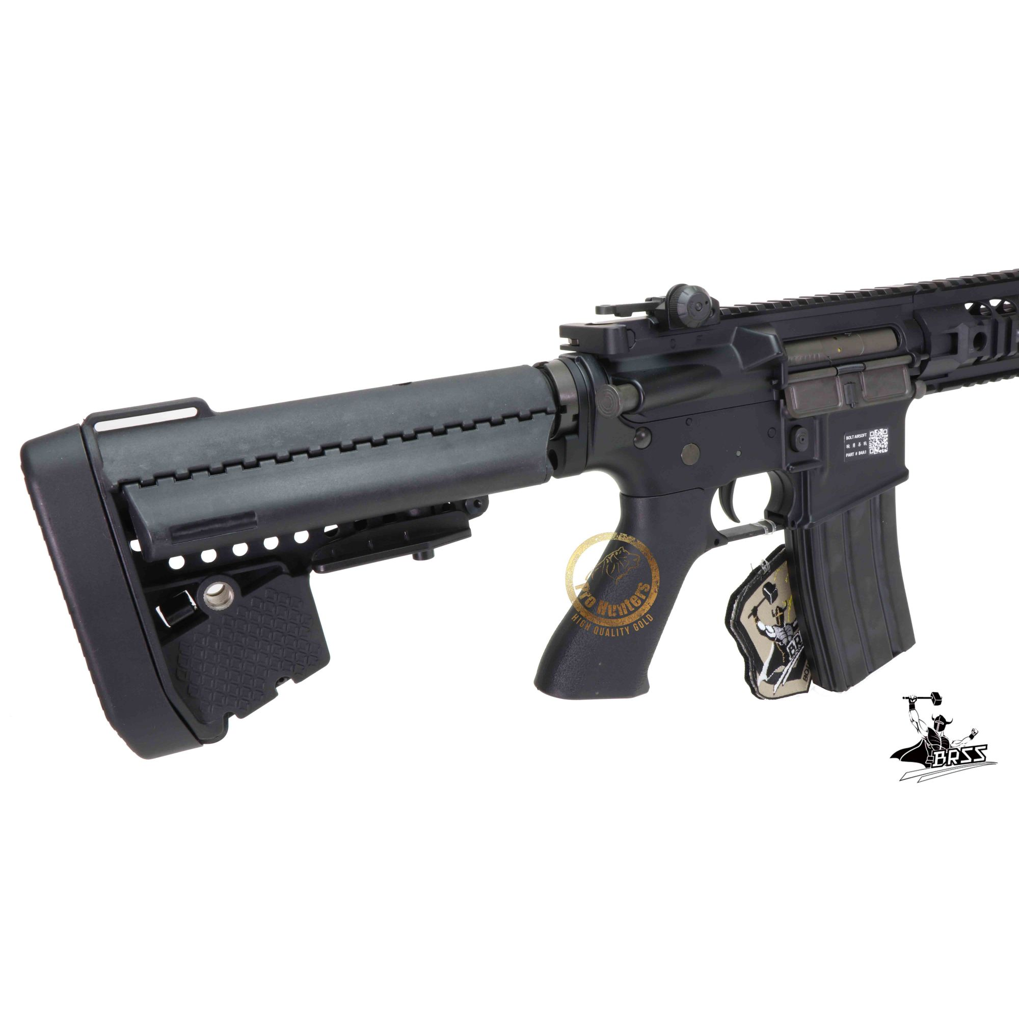 Rifle Airsoft M4 Bolt B4FS URX2  - Black Ris Full Metal - Blowback & Recoil System