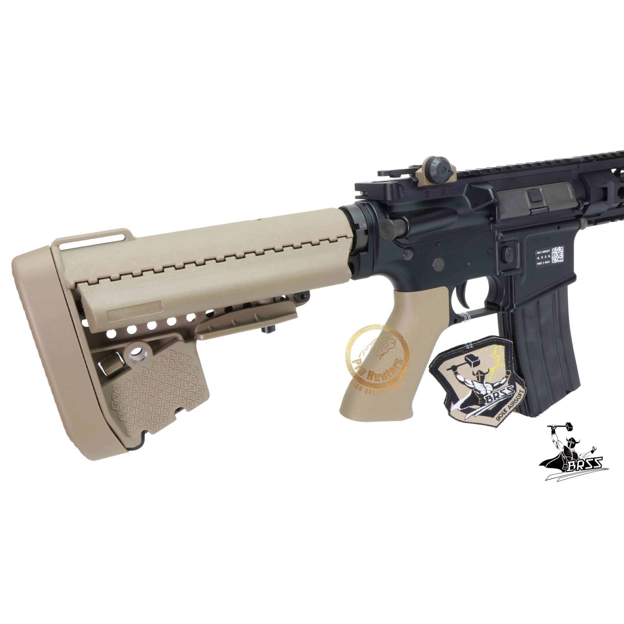 Rifle Airsoft M4 Bolt B4FS URX2  - TAN Ris Full Metal - Blowback & Recoil System