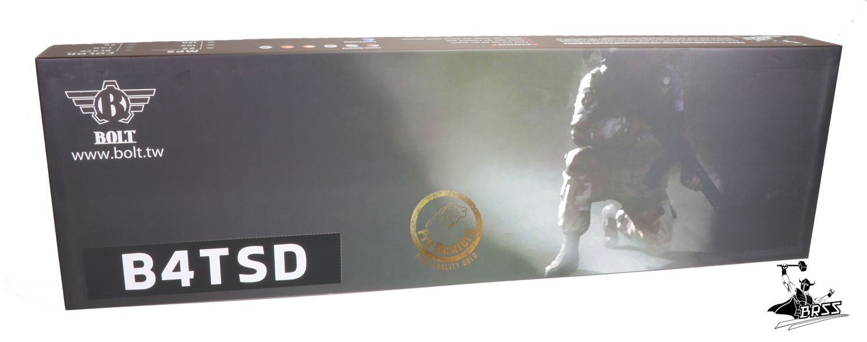 Rifle Airsoft M4 Bolt B4TSD Ris Full Metal - Blowback & Recoil System - FRETE GRÁTIS