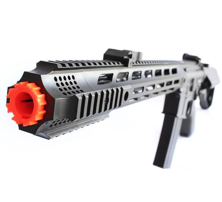 Rifle Airsoft M4 Cyma Keymod CM518 - Black